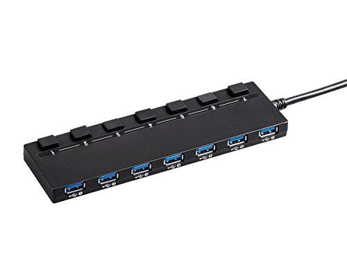 Monoprice USB 7 port Switch Adapter