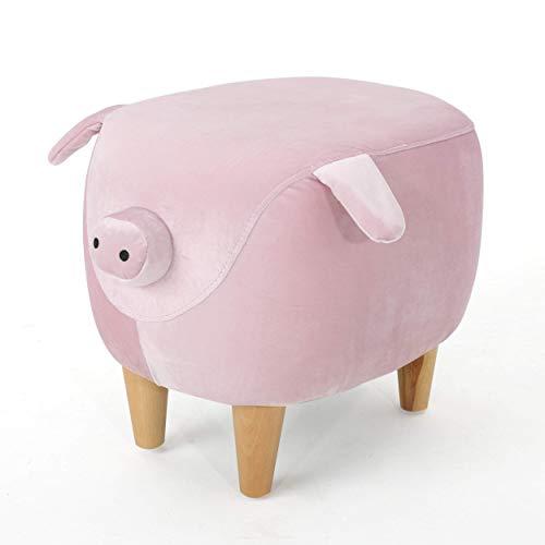 Keiki 302162 Accent Furniture, Pink Velvet