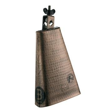 Meinl Percussion STB80BHH-C 8-Inch Big Mouth Hand Hammered Steel Cowbell, Copper Color Finish
