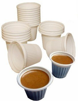 Mini disposable for Cuban Style and espresso coffee cups 3/4 oz. Pack of (Demitasse Mini)