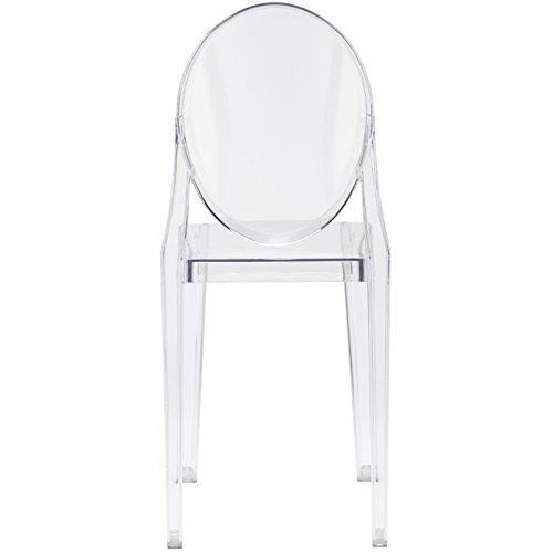 Poly and Bark Burton Side Chair in Clear (Set of 4) by POLY & BARK (Image #5)