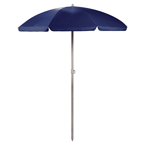 ONIVA - a Picnic Time Brand Outdoor Canopy Sunshade Umbrella 5.5', Navy - Picnic Table Umbrella