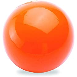 DLDER Rubber Dog Toys, 100% Safe & Non-Toxic, Tough Indestructible Dog chew Toy, Durable Ball for Aggressive Chewer & Large Dogs - Floating Ball