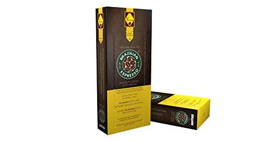 Cápsulas de Café Brazilian Espresso - Verona (Cápsulas Compatíveis com Nespresso) - Contém 10 cápsulas