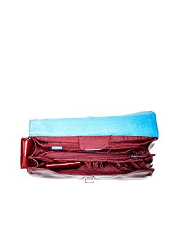 Piquadro Cartella Blue Square Rosso