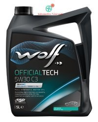 Wolf - Aceite motor 5 litros. Officialtech 5W30 C3 5L