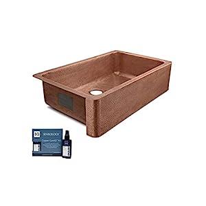 31CBa8VALmL._SS300_ Copper Farmhouse Sinks & Copper Apron Sinks