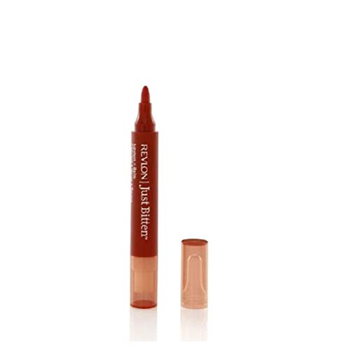 (2 of Revlon Just Bitten Lipstain and Balm, Forbidden, 0.14Ounces (Pack of 2))