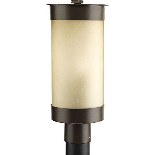 Progress Lighting P5413-20 Hawthorne One-Light Post Lantern, Antique (Prairie Style Outdoor Lighting)