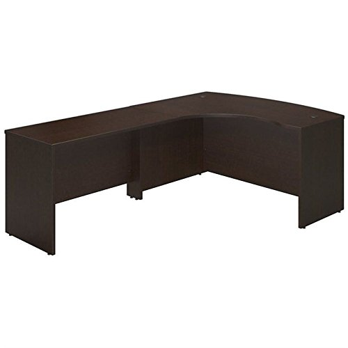 Bush Business Furniture SRE028MR Desk Shell, Mocha Cherry