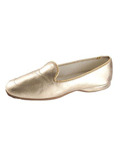 Gold Green Meg Wide Slippers Daniel 8 w0pn7xnU