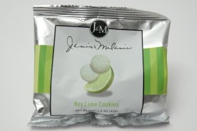 (J&M Foods Key Lime Cookies, 1.5 Ounce - 36 per Case.)