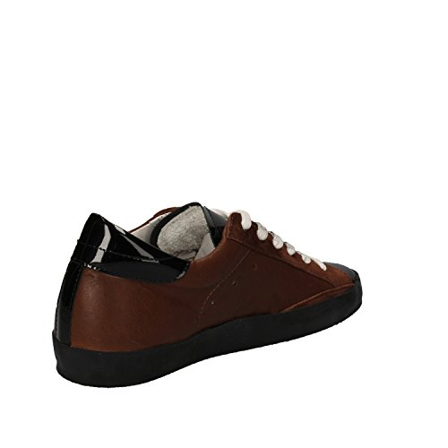 Philippe Model , Damen Sneaker braun Marrone/Nero