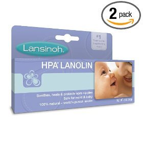 Lanolin Hpa (Lansinoh Hpa Lanolin for Breastfeeding Mothers, 1.41 Ounce (Pack of 2))