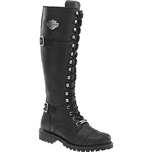 Harley-Davidson Women's Beechwood Work Boot, Black, 11 M US