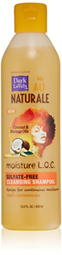 SoftSheen-Carson Dark and Lovely Au Naturale Moisture LOC Sulfate-Free Cleansing Shampoil, 13.5 fl oz ()