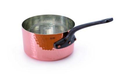 Mauviel 214316 - Copper Saucepan Professional Series- Cast Iron Handle