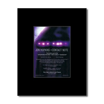 (Music Ad World JON HOPKINS - Contact Note Mini Poster - 13.5x10cm)