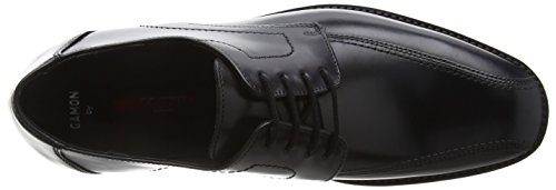 up Rubbersole 00 Men`s Schwarz Black Shoes Lace 14 051 Black Gamon Calfskin Alina Lloyd 7xw0TnBE
