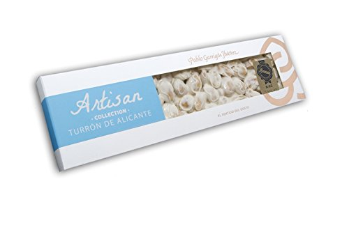 - Pablo Garrigós Ibáñez Artisan Collection Turron de Alicante (Crunchy Almond Turron) 7.76 oz (220 grams) (Pack of 1)