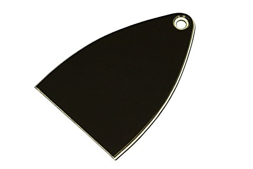 Truss Rod Cover for Paul Reed Smith PRS SE Import model guitars 3 ply, 1 pcs Blank black ()