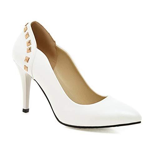 1TO9 Compensées Sandales Inconnu Blanc Blanc 5 Femme MMS06145 36 6dt6Svwgq