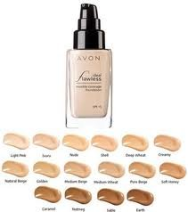 Avon Liquid Foundation Nude Ideal Flawless de couverture invisible SPF 15