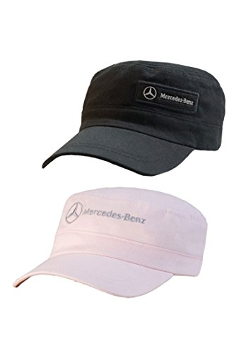 Mercedes Benz Adjustbale Military Hat - Pink - Buy Online in Oman ... 6807f9b9f25c