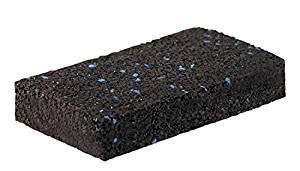 Gummipad Gummigranulat 50 St/ück F/ü/ße Diffusion Gummimatte 10 x 05 x 0,8 cm Terrassenpad Lautsprecher MADE IN GER Antivibrationsmatte f/ür Waschmaschinen Unterlage Unterkonstruktionen St/ühle