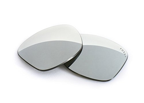FUSE+ Lenses for Ray-Ban RB2151 Wayfarer Squared (49mm) Chrome Mirror - Wayfarer Rb2151