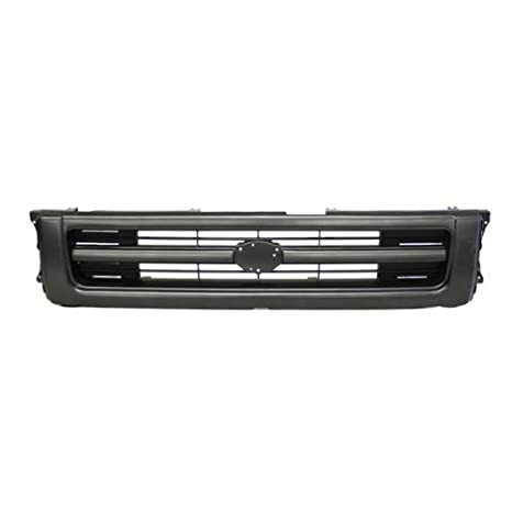 400-44307?TO1200127 5311135080 Pickup Mini 2Wd Front Raw Black Grill Grille w//Lamp Door For 1PC Type Assembly CarPartsDepot