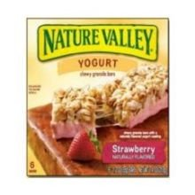 Nature Valley Strawberry Yogurt Granola Bar, 7.4 Ounce -- 12 per case. - Strawberry Yogurt Chips