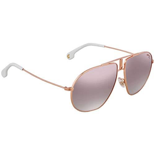 Carrera Men's Bound/s Non-polarized Iridium Aviator Sunglasses, Gold Copper, 60 ()