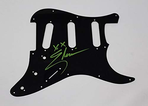 Elvira Cassandra Peterson Mistress of the Dark Signed Autographed Fender Electric Guitar Pickguard Loa