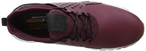 Uomo Rosso Burgundy Skechers Relven Burgundy Sneaker Hemson qZ1Bw