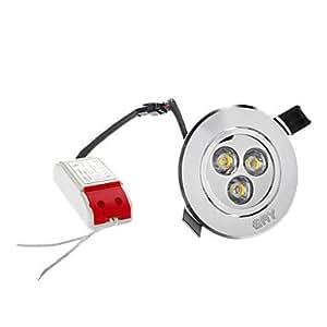 qinxi 4W 280LM 2700K Warm White LED Ceiling Bulb (100-)