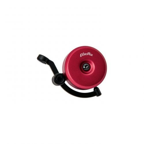Electra Linear Anodized Bicycle Bell Red (Bell Electra)