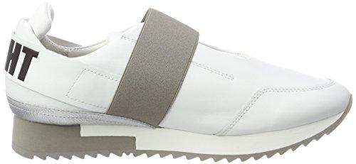 Sneaker Schuhmanufaktur Kennel Silver Grau light Sohle Racer Und weiß Schmenger Donna Silber cqcBwIgAF4