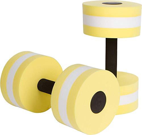ZEYU SPORTS Aquatic Exercise Dumbbells – Set of 2 – for Water Aerobics