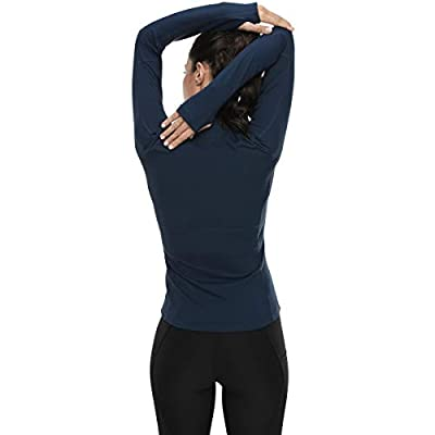 Amazon.com : VUTRU Women's Workout Yoga Jacket Full Zip Running Track Jacket : Clothing