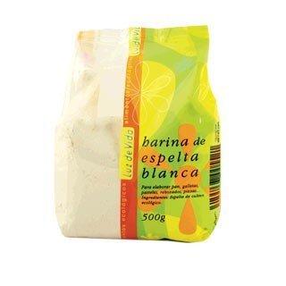 Harina Ecológica de Espelta Blanca(500 gr) BIOSPIRIT: Amazon.es: Alimentación y bebidas