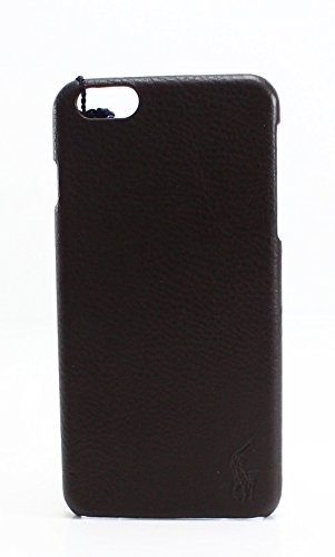uk availability f011a f562c Polo Ralph Lauren iPhone 6 Plus Fitted Cell Phone Case Brown O/S