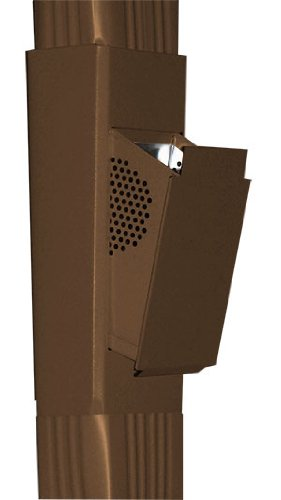 SlimLine Downspout Filter, Royal Brown color