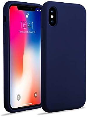coque iphone xr bleu