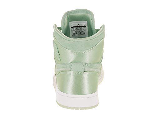 Jordan Nike Womens Air 1 Retro High Soh Mint Foam / Bianco Metallico Oro Scarpa Casual 11,5 Donne Noi