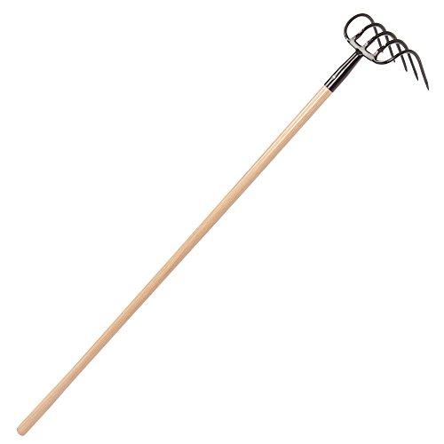 Leonard 5-Tine Cast Refuse Hook, Cultivator, Hand Tiller