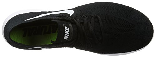 Nike Mens Free Rn Flyknit 2017 Scarpe Da Corsa Nere (noir / Grisfoncé / Blanc)