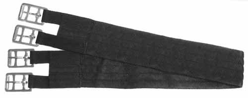 English Spur Belt - Derby Originals Soft Nylon Web Girth for English Saddles