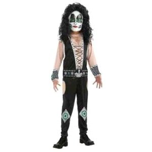 Kiss Band Halloween Costume (KISS Band - Catman Child Costume Size 4-6)