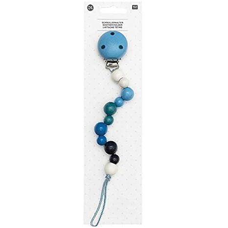 Rico Design Pinza Chupete Azul - 250 x 35 mm: Amazon.es: Hogar